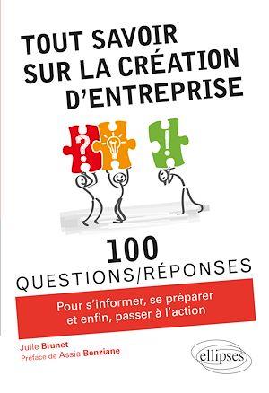 Téléchargez le livre :  Tout savoir sur la création d'entreprise
