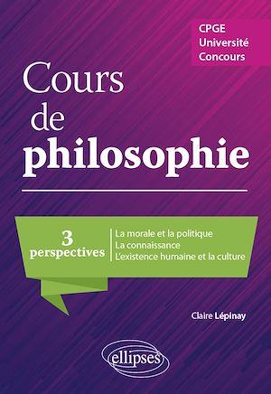 Téléchargez le livre :  Cours de philosophie. CPGE, Université, concours