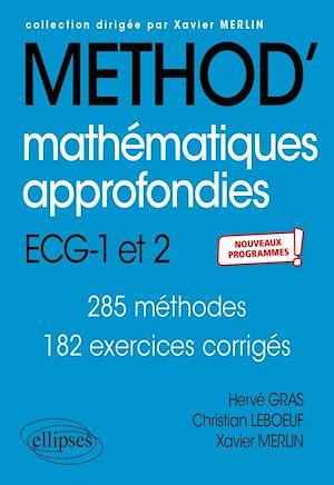 Téléchargez le livre :  Mathématiques approfondies - ECG 1re et 2e années - Nouveaux programmes