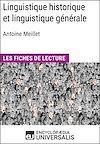 Téléchargez le livre numérique:  Linguistique historique et linguistique générale d'Antoine Meillet