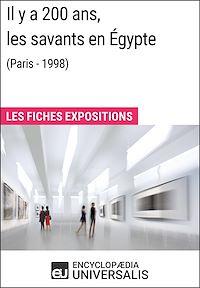 Télécharger le livre : Il y a 200ans, les savants en Égypte (Paris - 1998)