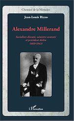 Télécharger le livre :  Alexandre Millerand