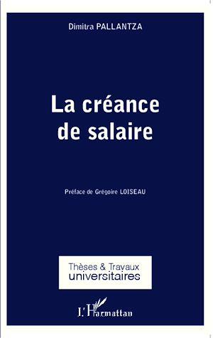 Téléchargez le livre :  La créance de salaire