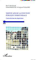 Télécharger le livre :  Trente ans de la fonction publique territoriale