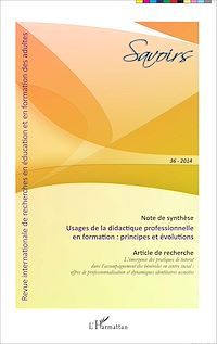 Télécharger le livre : Usages de la didactique professionnelle en formation : principes et évolutions