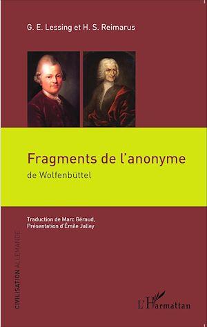 Téléchargez le livre :  Fragments de l'anonyme