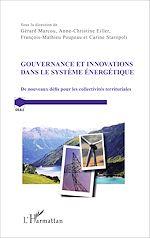 Télécharger le livre :  Gouvernance et innovations dans le système énergétique