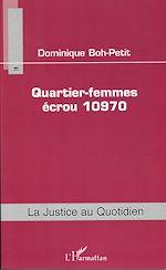 Télécharger cet ebook : Quartier-femmes écrou 10970