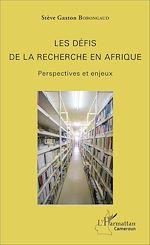 Télécharger cet ebook : Les défis de la recherche en Afrique