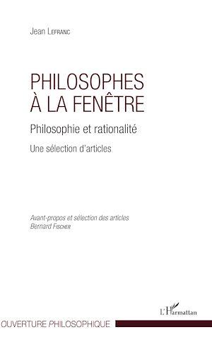 Téléchargez le livre :  Philosophes à la fenêtre