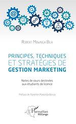 Télécharger le livre :  Principes, techniques et stratégies de gestion marketing