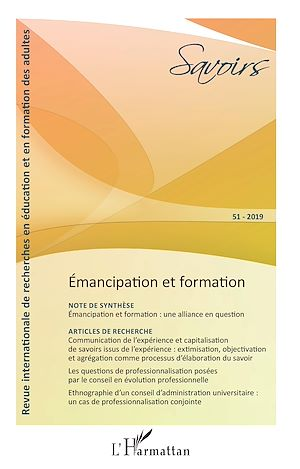 Téléchargez le livre :  Émancipation et formation