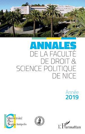 Téléchargez le livre :  Annales de la faculté de droit & science politique de Nice