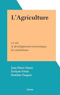 Télécharger le livre : L'Agriculture