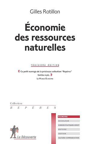 Téléchargez le livre :  Économie des ressources naturelles