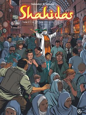 Téléchargez le livre :  Shahidas Tome 2 - La 25e note