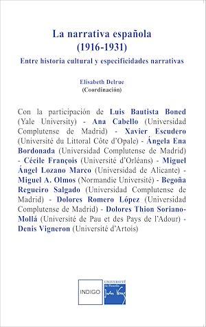 Téléchargez le livre :  La narrativa española (1916-1931)