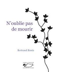 Télécharger le livre : N'oublie pas de mourir