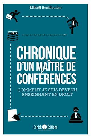 Téléchargez le livre :  Chronique d'un Maître de conférences