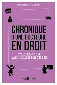 Télécharger le livre : Chronique d'une docteure en droit