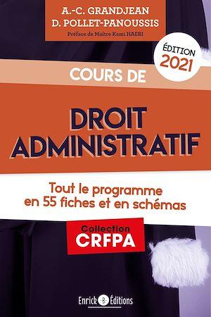 Téléchargez le livre :  Cours de droit administratif - édition 2021
