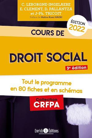 Téléchargez le livre :  Cours de droit social 2022
