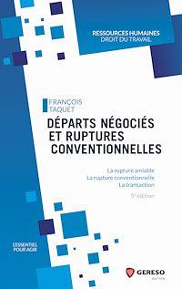 Télécharger le livre : Départs négociés et ruptures conventionnelles