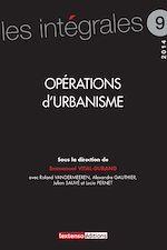 Télécharger le livre :  Opérations d'urbanisme