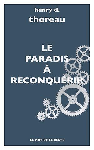 Téléchargez le livre :  Le Paradis à reconquérir