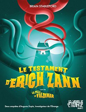 Téléchargez le livre :  Le testament d'Erich Zann