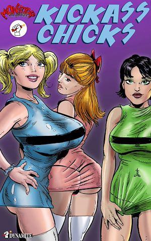 Téléchargez le livre :  Kickass Chicks - tome 1