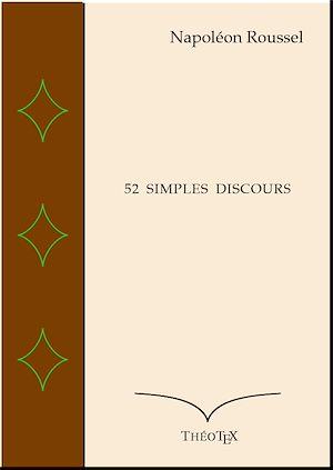Téléchargez le livre :  52 Simples Discours