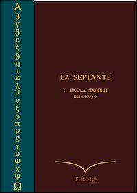 Télécharger le livre : La Septante Grec-Français