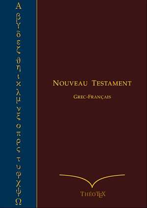 Téléchargez le livre :  Nouveau Testament Grec-Français
