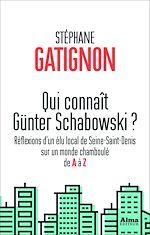 Télécharger le livre :  Qui connaît Günter Schabowski ?