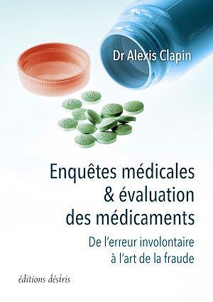Téléchargez le livre :  Enquêtes médicales et évaluation des médicaments