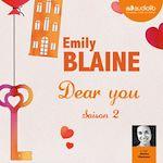 Télécharger le livre :  Dear you - saison 2