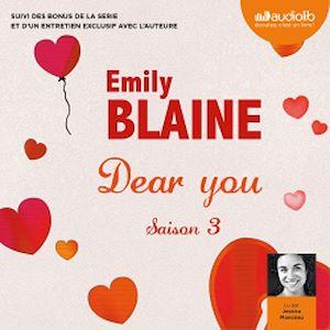 Téléchargez le livre :  Dear you - saison 3