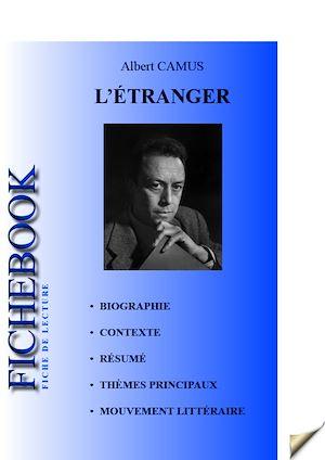 Fiche de lecture L\'Étranger eBook: Albert Camus - Numilog.com