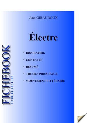 Téléchargez le livre :  Fiche de lecture Électre (complète)