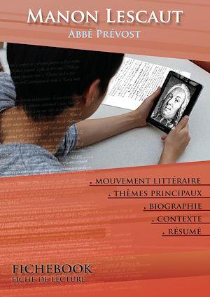 fiche de lecture manon lescaut résumé détaillé et analyse littérai