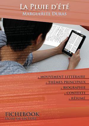 Téléchargez le livre :  Fiche de lecture La Pluie d'été - Résumé détaillé et analyse littéraire de référence