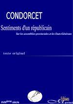 Télécharger le livre :  Sentiments d'un républicain