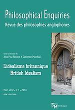 Télécharger le livre :  L'idéalisme britannique / British Idealism
