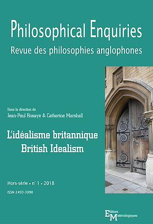 Téléchargez le livre :  L'idéalisme britannique / British Idealism
