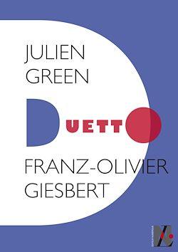 Téléchargez le livre numérique:  Julien Green - Duetto