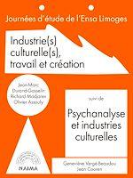 Télécharger cet ebook : Industries culturelles, travail et création