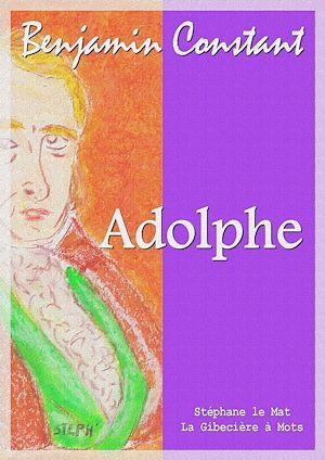 Téléchargez le livre :  Adolphe