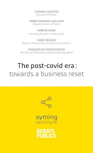 Téléchargez le livre :  The post-covid era: towards a business reset