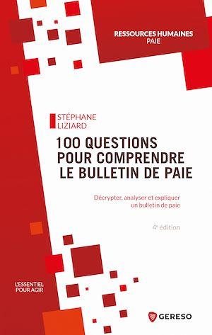 Téléchargez le livre :  100 questions pour comprendre le bulletin de paie